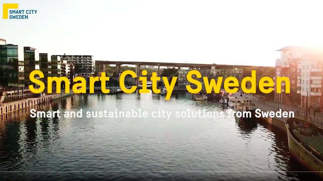 Smart City Sweden, smarter cities with the help of collaboration