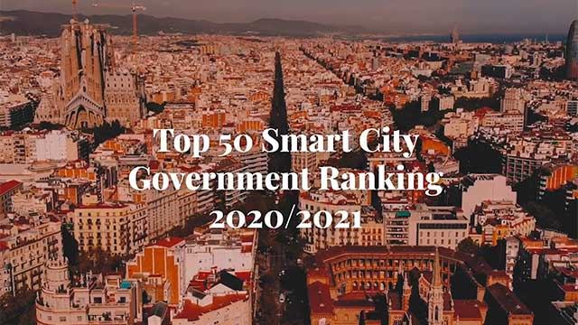 The Top 50 Smart City Governments in 2021