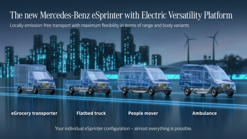 Next generation eSprinter to be built at plant in Ludwigsfelde