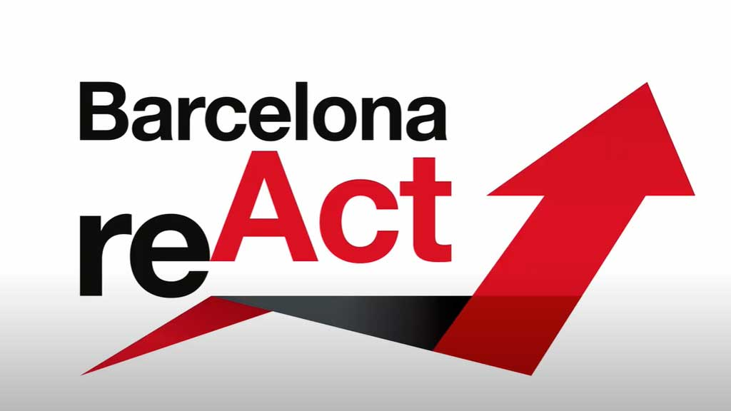 Debating strategies for the economic reactivation at Barcelona ReAct
