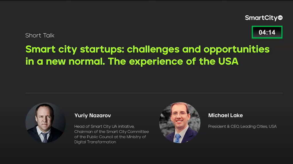 Smart city startups: challenges and opportunities in a new normal. The experience of the USA