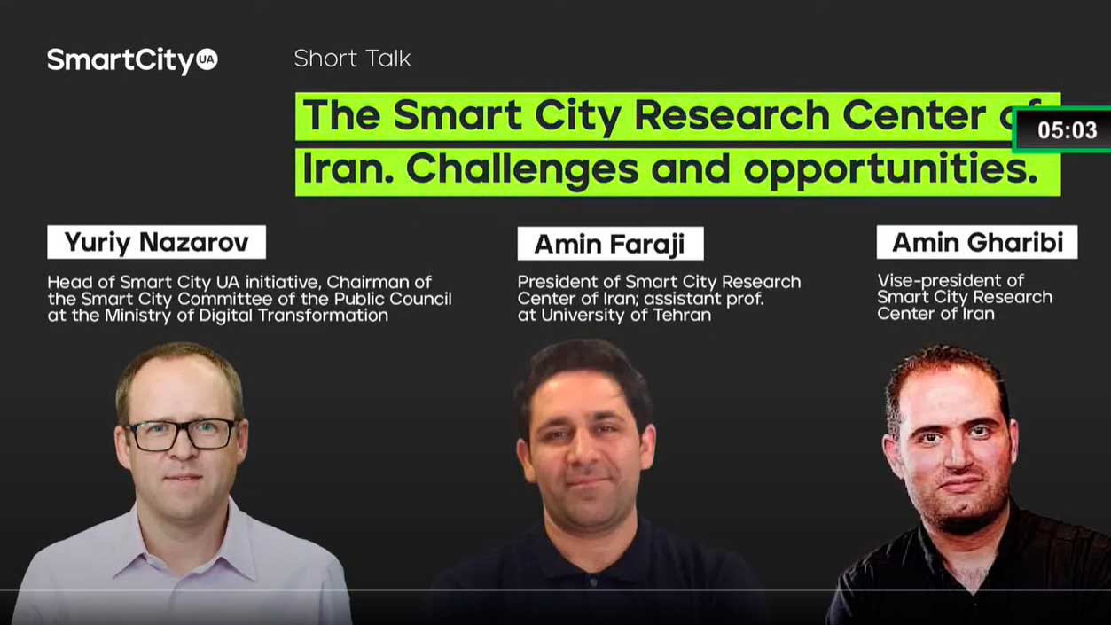 The Smart City Research Center of Iran. Challenges and opportunities