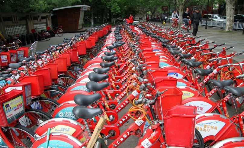 China shared bike